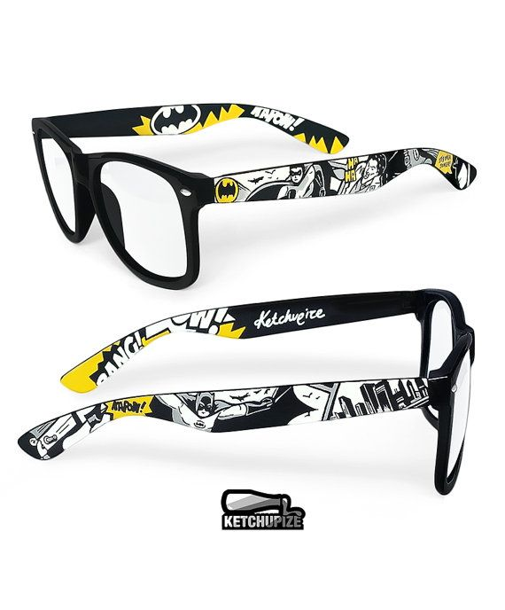 Batman Sunglasses Wayfarer style sunglasses Batman by ketchupize