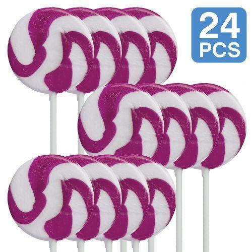 purple swirl pops