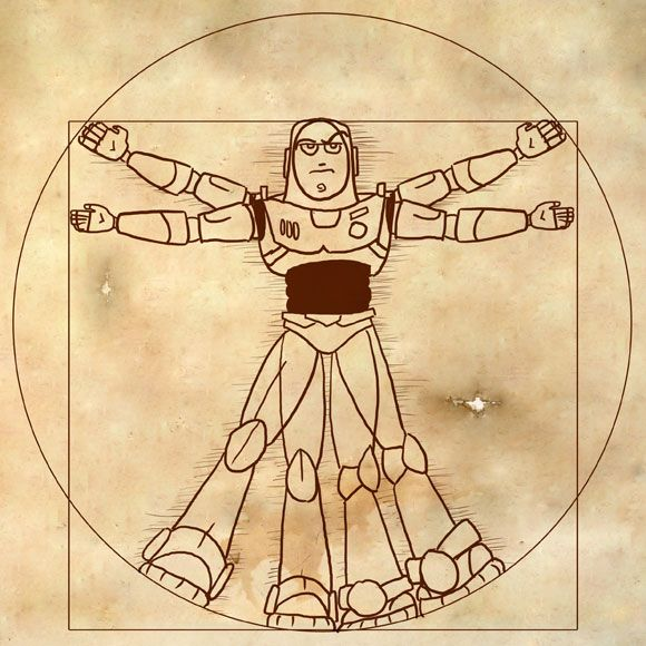 31 best images about Art-DaVinci-Vitruvian Man on ...