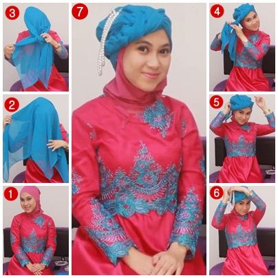 Tutorial Hijab Kebaya #1/ Kebaya Hijab Tutorial part 1