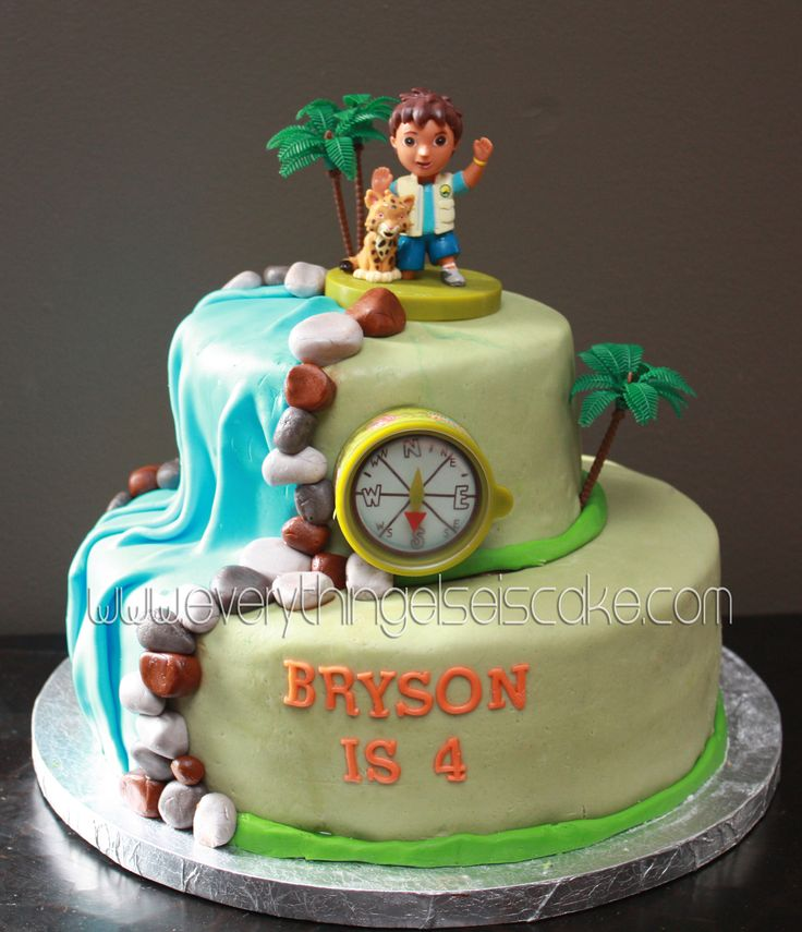 Go Diego Go Cake « Everything Else is Cake