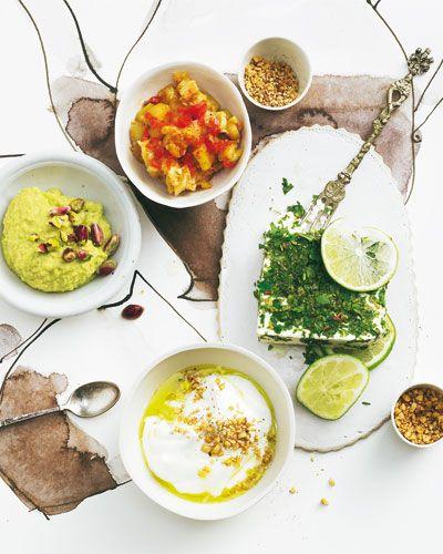 Vorspeisen-Rezepte: Mezze-Variationen aus der Türkei