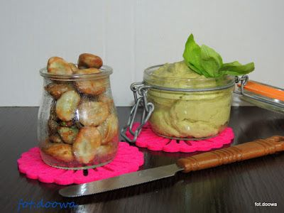 Moje Małe Czarowanie: Pasta z bobu i kiszonych cytryn