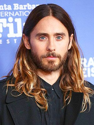 Jared Leto Oscars hair Imeh Akpanudosen/Getty