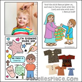 Samuel Grows Inside And Out Bible Lesson For Children From Www