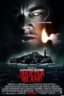 """Shutter Island is a 2010 American psychological thriller film directed by Martin Scorsese. The film is based on Dennis Lehane's 2003 novel of the same name. Production started in March 2008. Leonardo DiCaprio stars as U.S. Marshal Edward """"Teddy"""" Daniels, who is investigating a psychiatric facility on the titular island. Positively cited by movie reviewers, the film grossed over $128 million in its initial domestic theater release, as well as an additional $166 million internationally."""