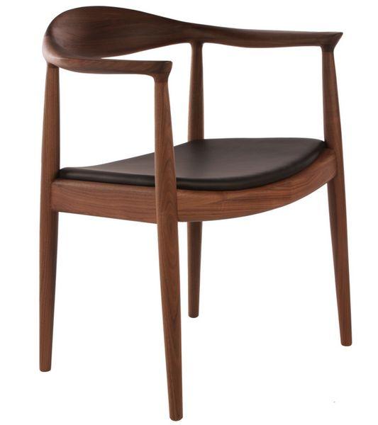 Beautiful Tolles Dekoration Hans Wegner Stuhl 2 #5: Hans Wegner Round Chair - Reproduction