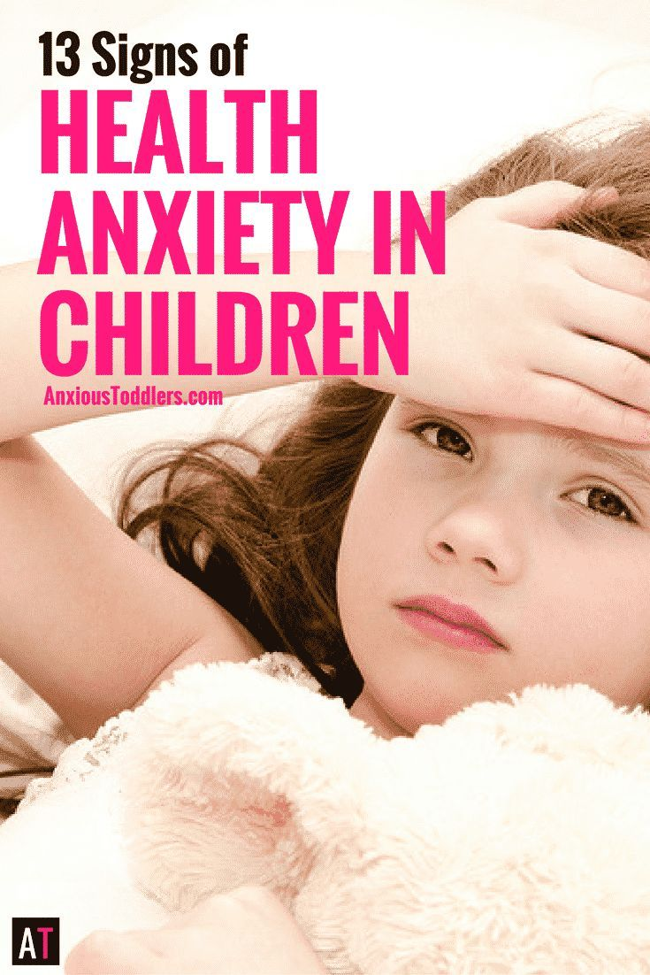 Do your kids ask you to take their temperature all the time? Do they worry about cancer, tumors and heart attacks? Learn 13 signs of Health Anxiety.