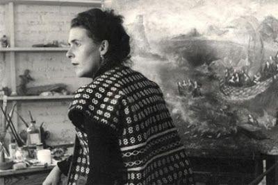 La losa y la pluma: escritoras frente a la locura.  Un curso de la Universidad Menéndez Pelayo reflexiona, a partir de textos autobiográficos y en clave de género, sobre el impacto de la locura (real o impuesta) en la construcción de la identidad de autoras como Leonora Carrington, Sylvia Plath, Alejandra Pizarnik o Virginia Woolf.  Fernando Díaz de Quijano   El Cultural, El Mundo, 2017-08-04  http://www.elcultural.com/noticias/letras/La-losa-y-la-pluma-escritoras-frente-a-la-locura/11070