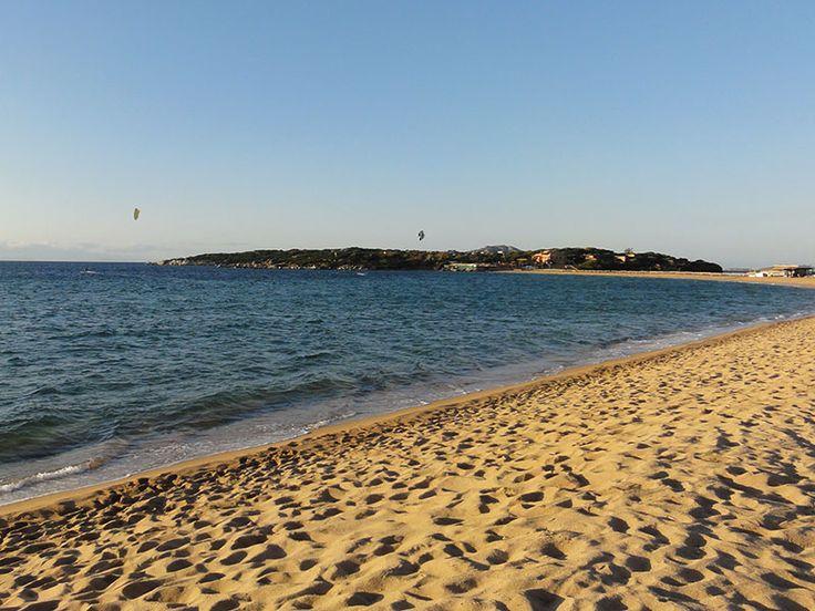 Porto Pollo kitespot. Can't wait our kitesurfing adventure with campervan!! :)