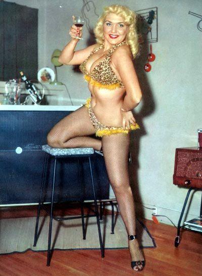 Jennie Lee Bump N Grind Vintage Burlesque Burlesque