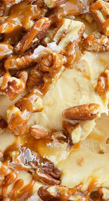 Salted Caramel Pecan Cheesecake Dip