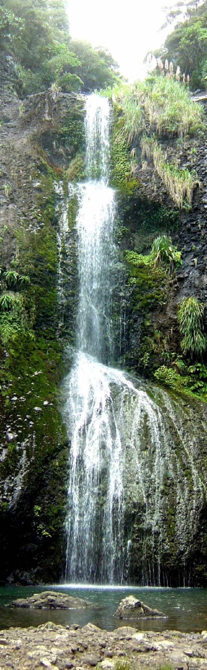 Kitekite Falls, Piha, Auckland, New Zealand