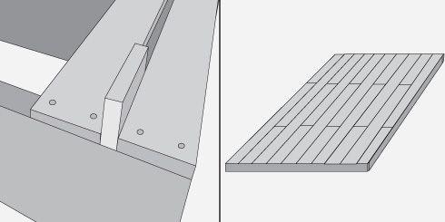 Hágalo Usted Mismo - ¿Cómo instalar un deck de madera o un entramado de piso?