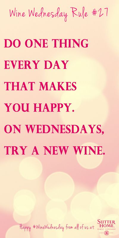 Happy Wine Wednesday! Perhaps tonight I will get that Cabernet/Shiraz or the Cabernet Merlot.