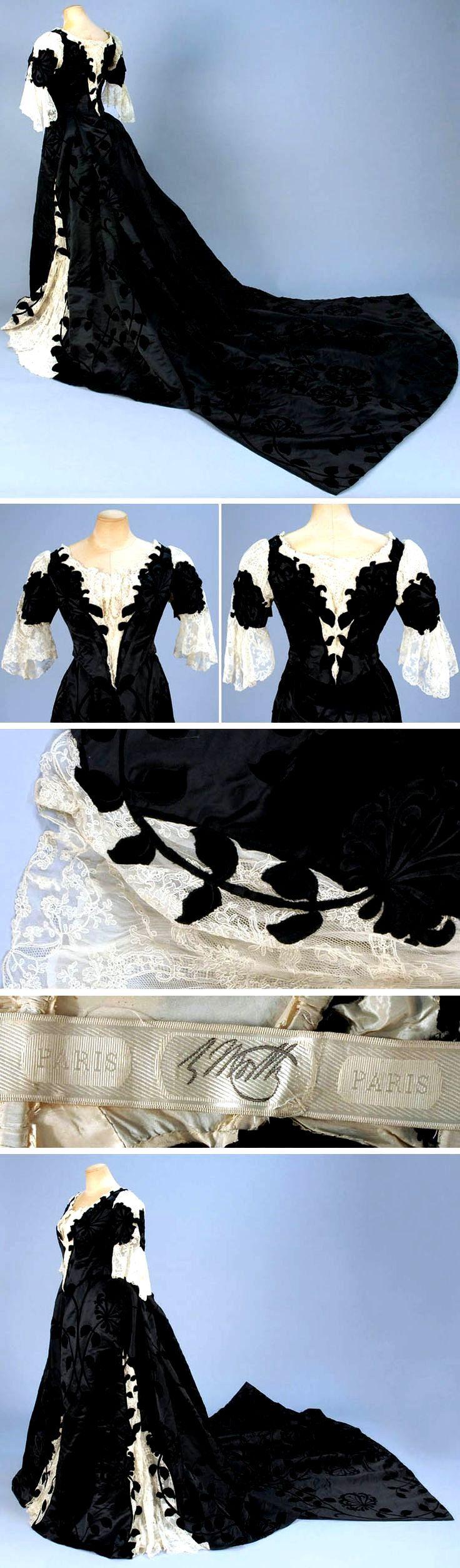 HISTORICAL BLACK & PRINTED DRESSES