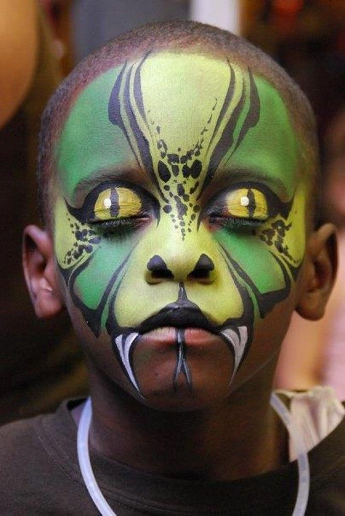 50 Pretty And Scary Halloween Makeup Ideas For kids
