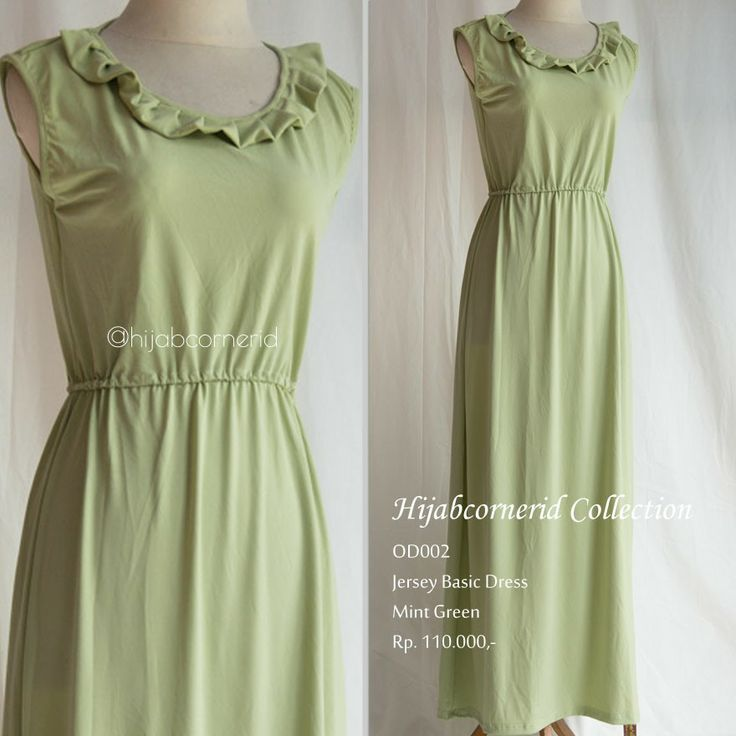 Basic dress, the pastel series is must have item. Go grab it only at http://hijabcornerid.com