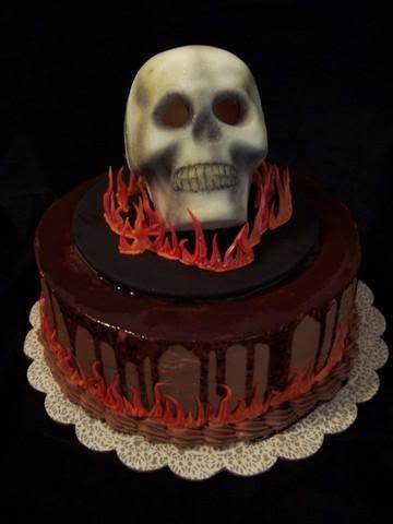 Skull Cake Topper Australia