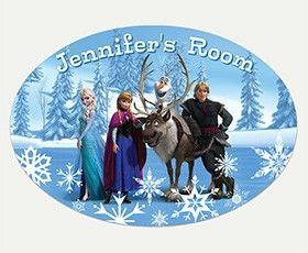 Frozen Elsa Wall Decals | RoomMates Peel and Stick Décor
