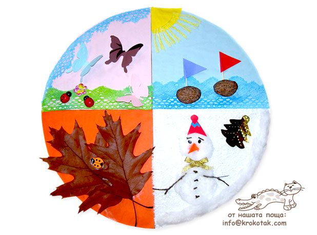 Calendar Craft For Kindergarten : Best the four seasons ideas for kids images on