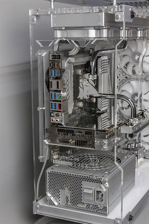 Case Mod Friday: Project CrystaliZed 570X | Computer Hardware Reviews - ThinkComputers.org