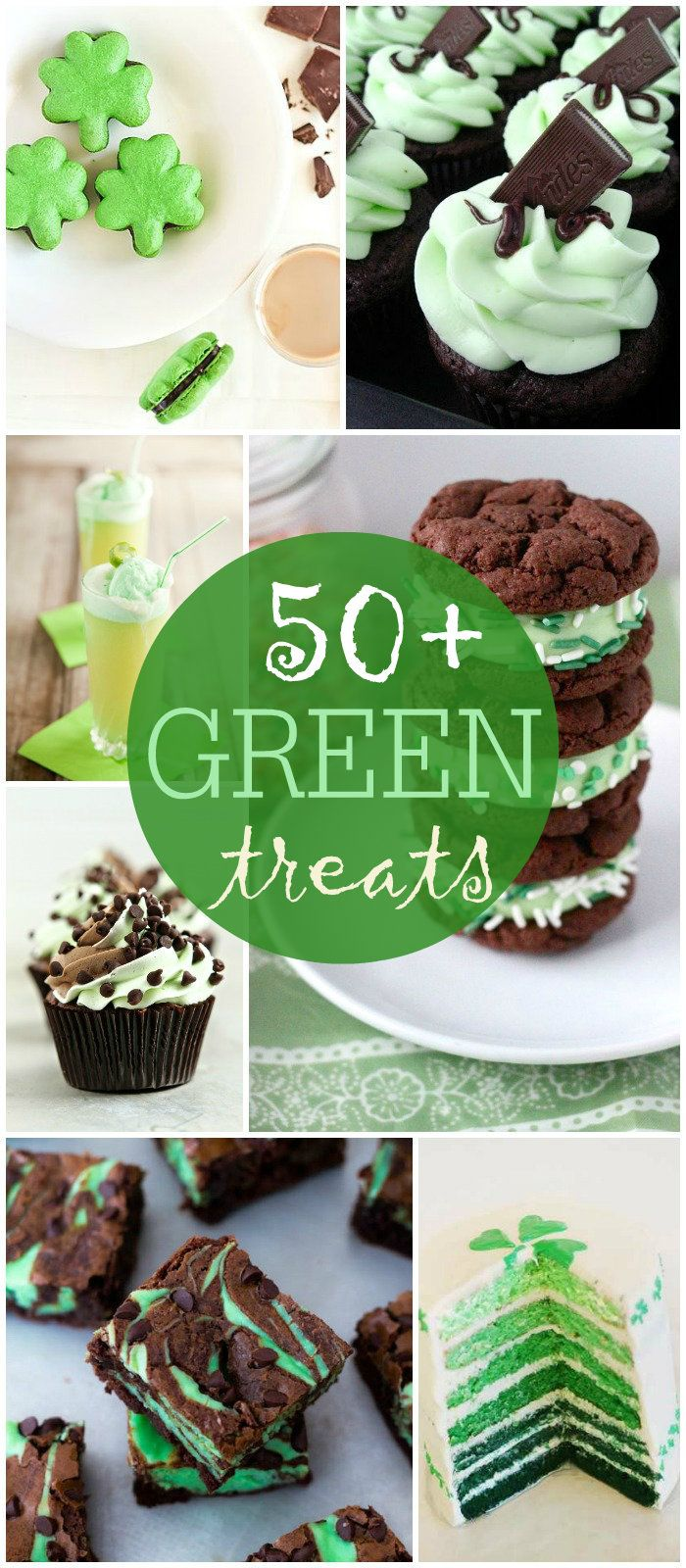 50+ Green Treats perfect for St. Patrick's Day { lilluna.com } #stpatricksday
