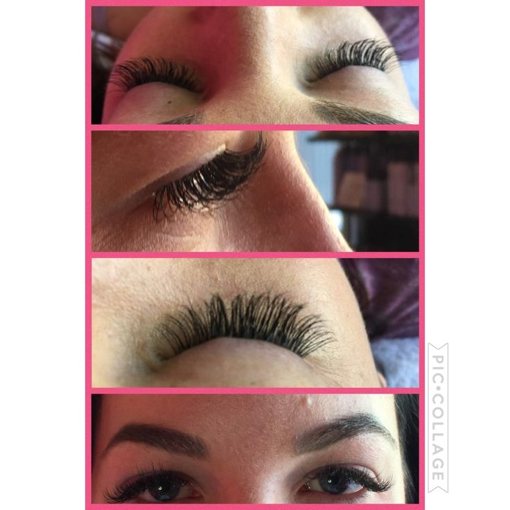 D Curl Eyelash Extensions done by Kim at The Lash Attic .