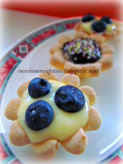 In cucina senza glutine: ricette e cucina per celiaci: i pasticcini della Miss