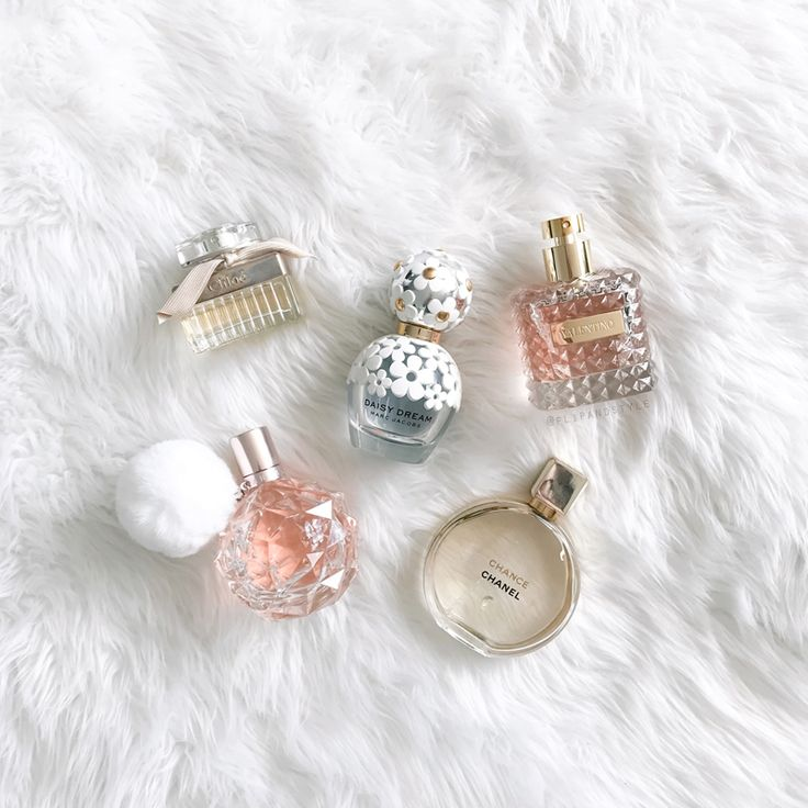 Favourite perfume ♥ Chloe, Valentino Donna, Chanel Chance, Marc Jacobs Daisy Dream and Ari by Ariana Grande