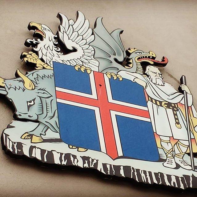 Viking pride. #iceland
