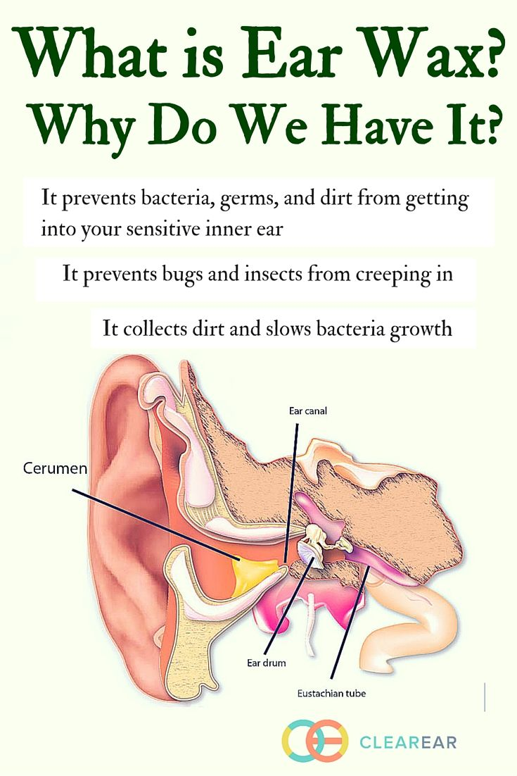 But what is ear wax? What causes ear wax to accumulate in our ears? What is ear wax good for? Is there such a thing as too much ear wax? What is the best way to remove ear wax when it gets out of control?