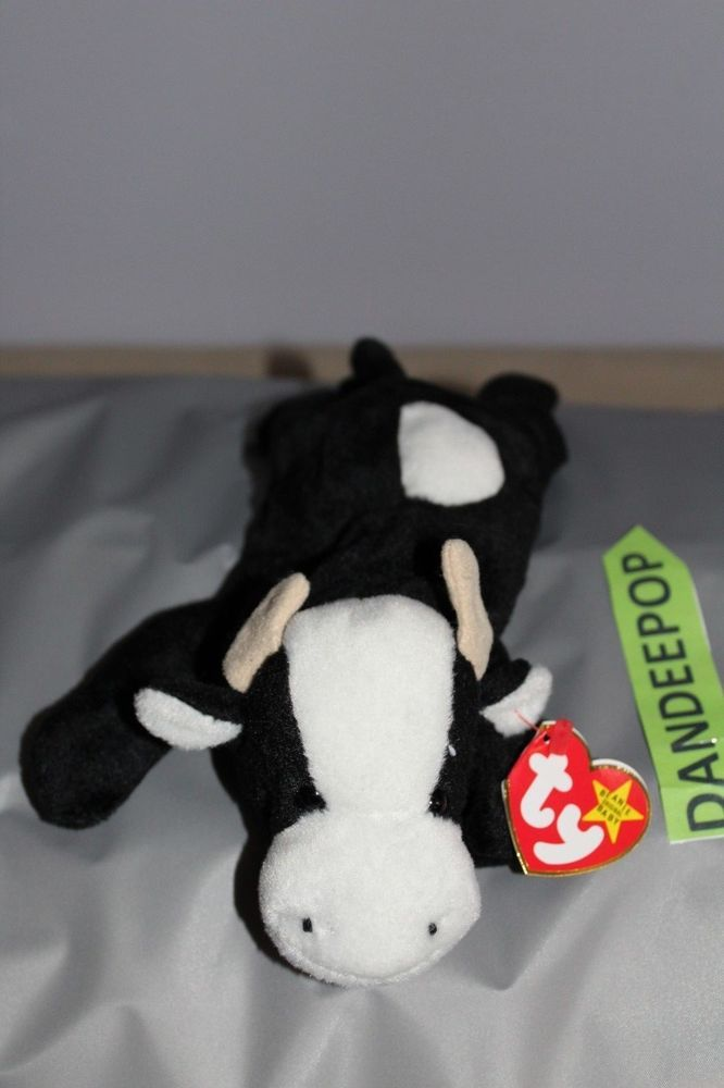 Details about TY Retired Beanie Baby Daisy Cow Retired Original 4006 1994  2fb8f80e694