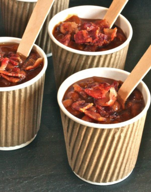 Maple Bacon Baked Beans Recipe for summer cookouts from  The Hopeless Housewife®
