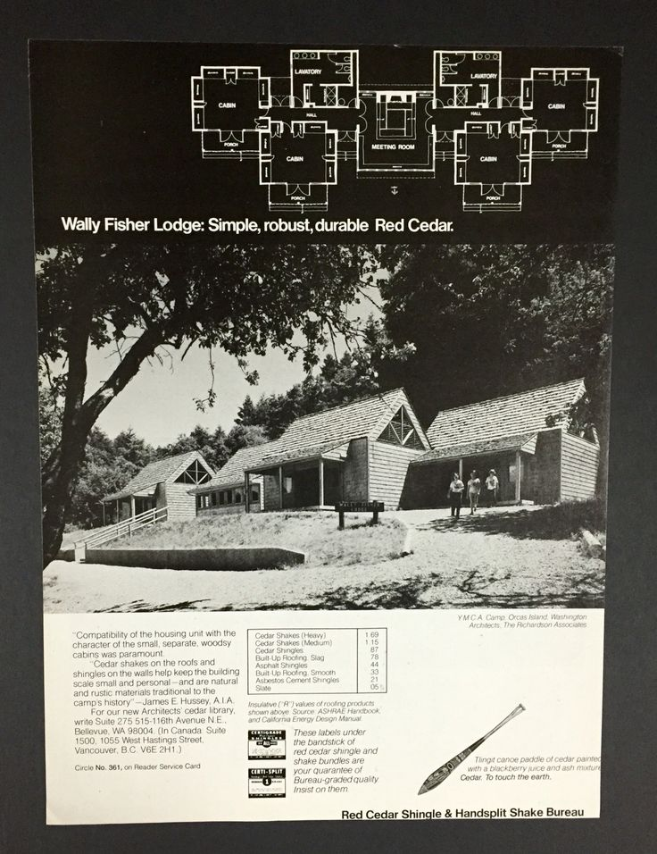 Best Wally Fisher Lodge At Ymca Camp Orkila Ad For Red Cedar 400 x 300