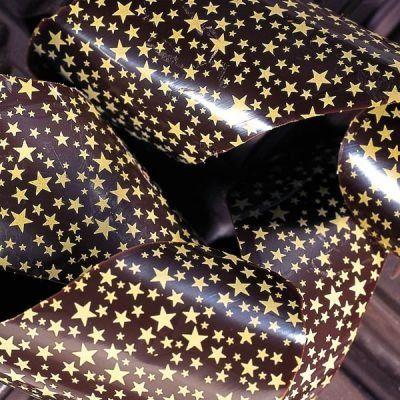 Chocolate Transfer Sheet: Gold Stars, 20 Sheets PCB  ($48.14)