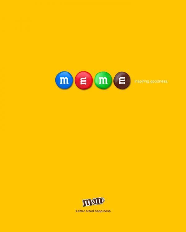 "M Chocolate: ""Meme"" Publicidad impresa"