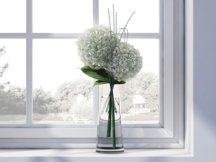 Hydrangea Bouquet Vase_ render with VRay  |||   http://stefanoadriani.dunked.com/