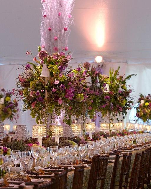 David Tutera Wedding Centerpiece Ideas: David Tutera - Whimsical Garden