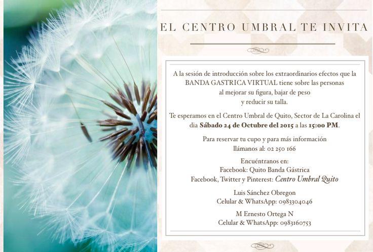 @CentroUmbralQuito Que es la Banda Gastrica Virtual?