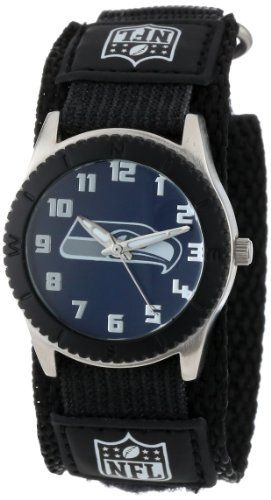 """awesome Game Time Unisex NFL-ROB-SEA """"Rookie Black"""" Watch – Seattle Seahawks"""