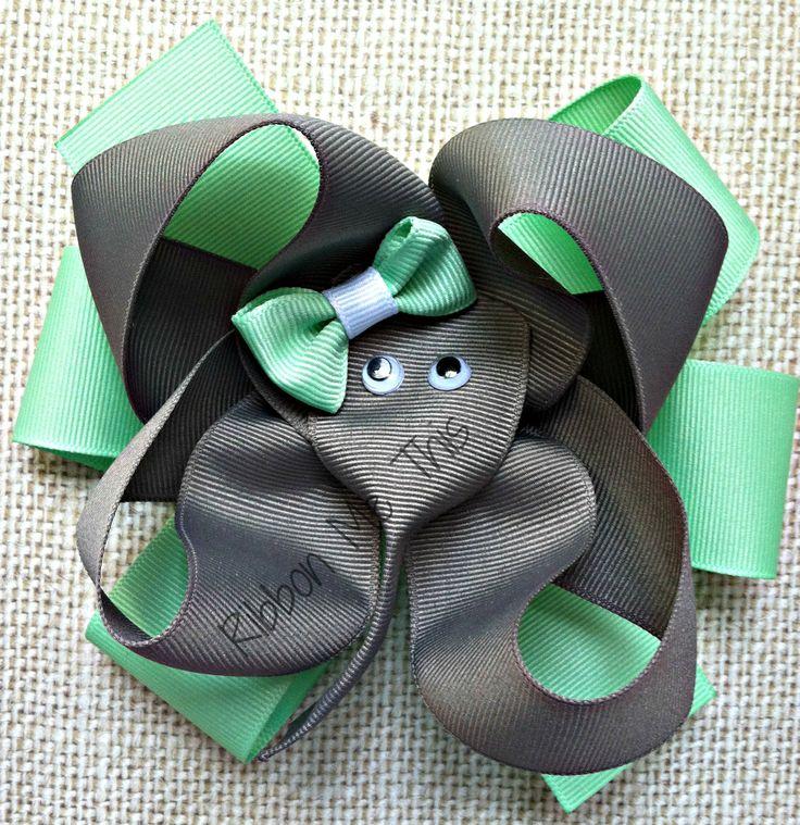 Elephant hair bow.