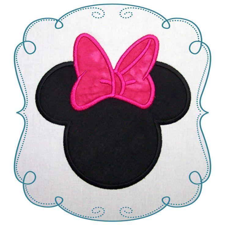 minnie mouse Applique