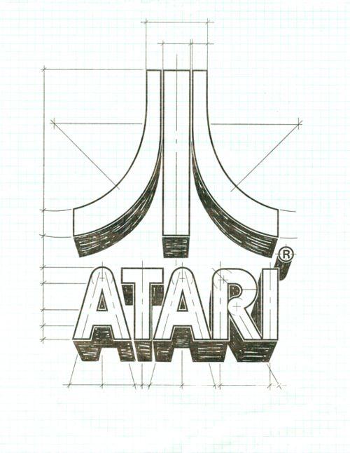 atariLogo Design, Videos Games, Art, Graphics Design, Brand, Atari Logo, Random Pin, Games Design