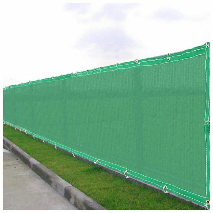 Flat privacy fence screen mesh for Cloth privacy screen