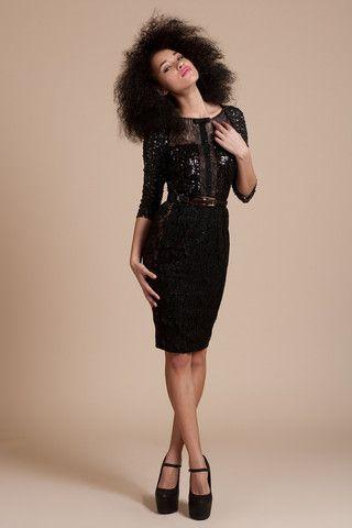 Genevieve Sequin Dress | Silk&Burlap