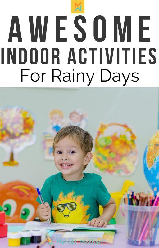 Fun Indoor Activities for Kids – #Activities #fun …