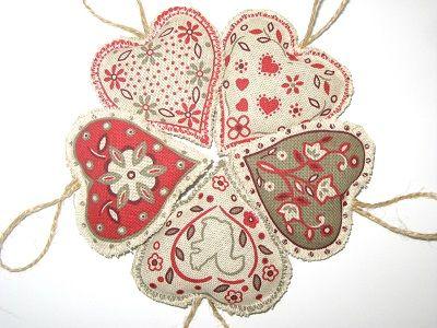 Little lavender hearts