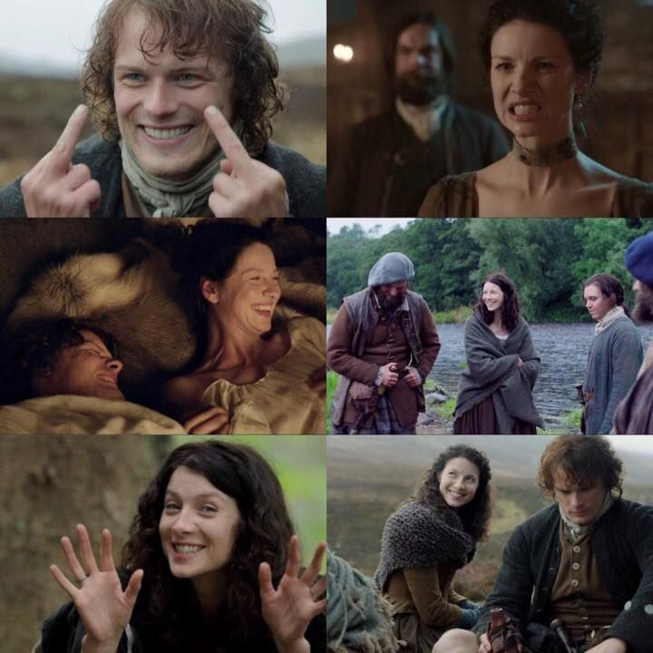 BTS bloopers/outtakes https://www.facebook.com/OutlanderItaly/photos/a.588025334612837.1073741831.480471528701552/906449599437074/?type=3