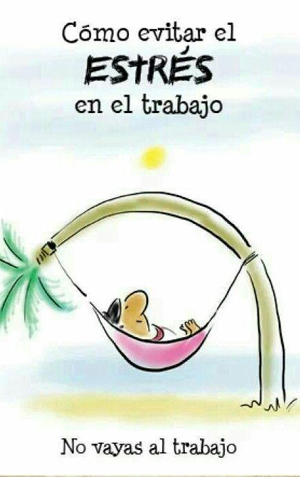 Estrés en el trabajo ༺✿Teresa Restegui http://www.pinterest.com/teretegui/✿༻ #imagenesdivertidas #compartirvideos